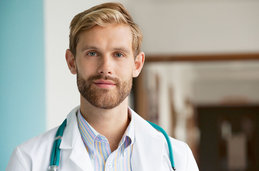 Photo of a doctor