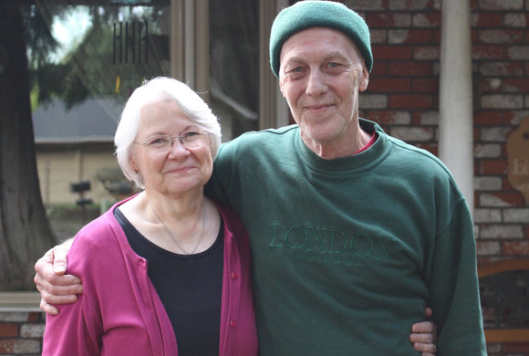 Photo of an older couple