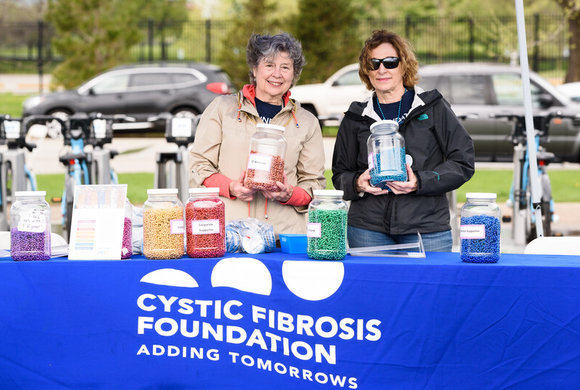 Photo of Cystic Fibrosis Foundation event