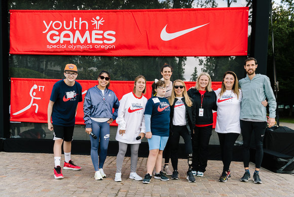 Photo of a group at Youth Games