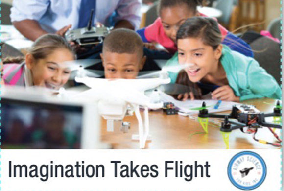 Imagination Takes Flight - Photo of kids with drones