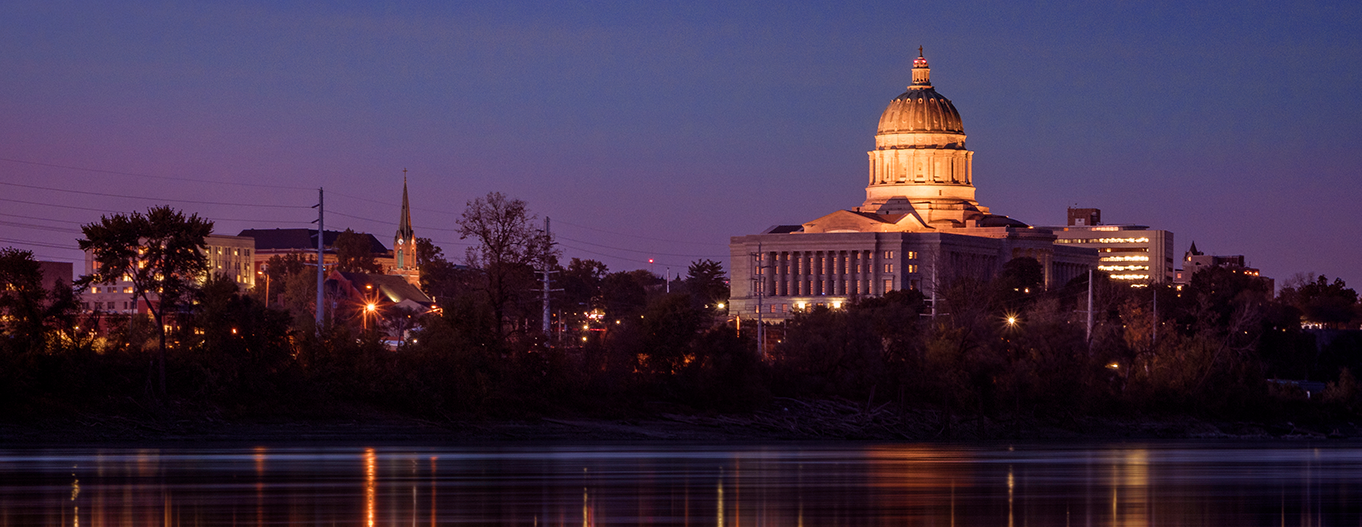 A photo of the capitol building in Missouri